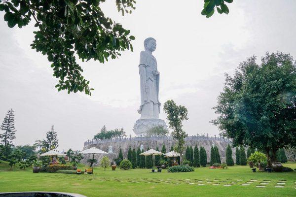 Đại lễ khánh thành Tượng Phật A Di Đà 48m cao nhất Miền Bắc